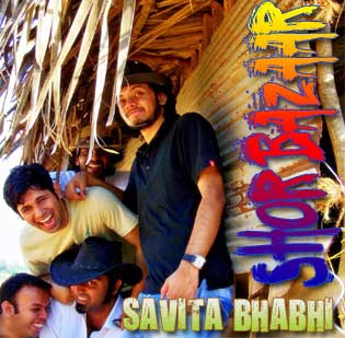 "Download & Listen to Alternative Rock Band ""Shor Bazaar's Single Savita Bhabhi"""