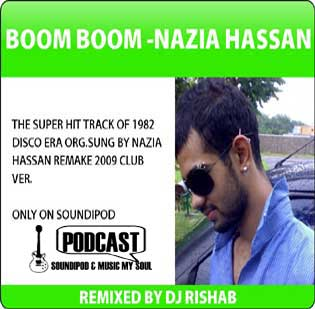 DJ Risabh Boom Boom ft Nazia Hassan 2009 Club Version