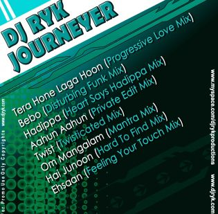 "DJ RYK - ""JOURNEYER"""