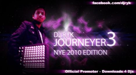 DJ RYK - JOURNEYER (Vol.3) (NYE 2010 Edition)
