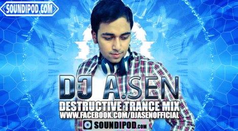 DJ A Sen - Teri Meri ( BodyGuard ) Destructive Trance Mix
